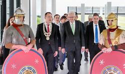 Eröffnung des Limesmuseums