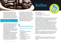 Fairhandeln - Kaffee
