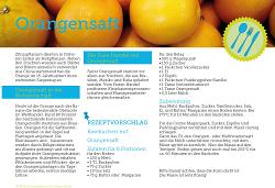 Fairschenken - Orangensaft