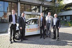 E-CarSharing in Aalen gestartet