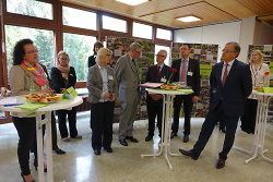 Kultusminister Andreas Stoch MdL an der Kocherburgschule Unterkochen