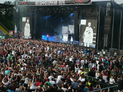 CRO-Konzert in der Scholz Arena