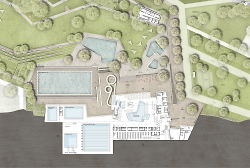 Kombibad Hirschbach - Grundriss EG - 4a Architekten