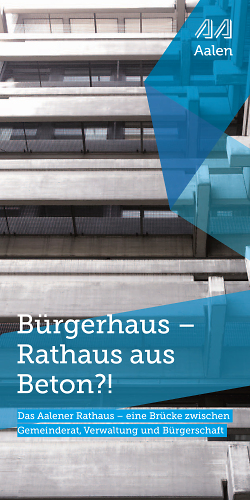 Rathaus Aalen - Vortrag Architekt Arno Lederer