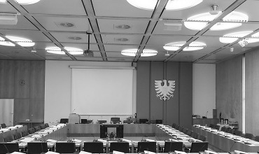 Großer Sitzungssaal, Rathaus Aalen