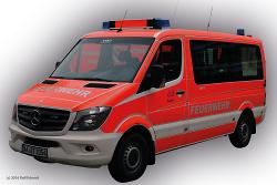 Mannschaftstransportwagen der Abteilung Aalen (Mercedes Benz Sprinter)