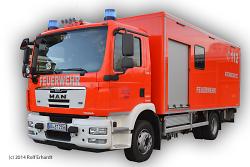 Gerätewagen Atemschutz der Feuerwehr Aalen