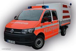 Gerätewagen-Transport der Feuerwehr Aalen