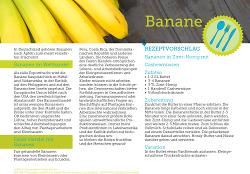 Fairhandeln - Bananen
