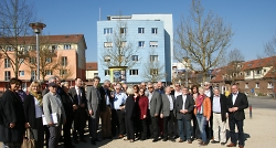 Exkursion des Aalener Gemeinderates - Delegation mit Tübingens OB Boris Palmer