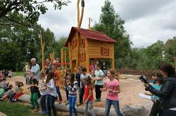 Eröffnung Kinderspielplatz Knöcklingstraße