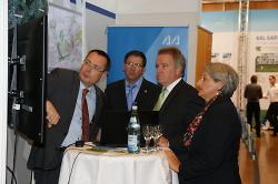 Umweltminister Franz Untersteller auf der Immobilienmesse