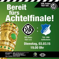 DFB Pokal VfR Aalen- 1899 Hoffenheim