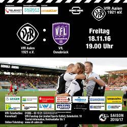 Drittligaspiel VfR Aalen ? VFL Osnabrück