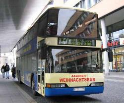 Aalener Weihnachtsbus