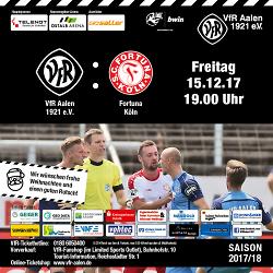 VfR Aalen - Fortuna Köln
