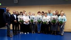 Preisverleihung des Blumenschmuckwettbewerbs 2018