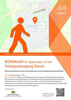 """Auf diesem Bild ist der Flyer zur Aktion """"Pinmit"""", einem Bürgerbeteiligungsformat der Stadt Aalen, für Ebnat zu sehen."""