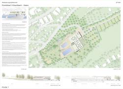 Kombibad Hirschbach - Präsentationsplan 1 - Lehmann Architekten