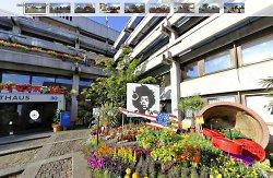 Panoramabilder von Aalen City blüht