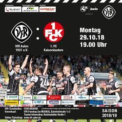 Drittligaspiel VfR Aalen ? 1. FC Kaiserslautern