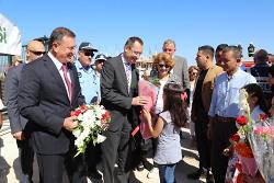 Schule für syrische Flüchtlingskinder startet
