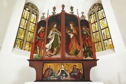 Spätgotischer Flügelaltar im Alten Kirchle