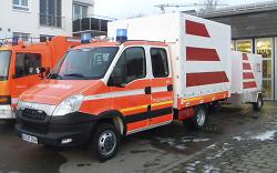 Gerätewagen der Abteilung Fachsenfeld