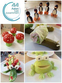 Obst- und Gemüseschnitzen