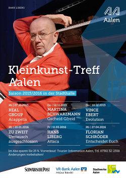 Kleinkunst-Treff: Spielzeit 2015/2016