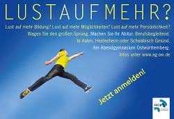 Abendgymnasium Ostwürttemberg - Jetzt anmelden