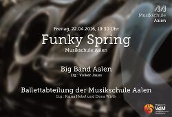 Funky Spring mit der Big Band Aalen