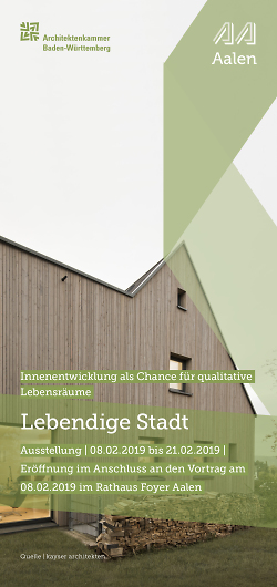 """Ausstellung """"Lebendige Stadt"""""""
