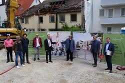 Baustart für Wohnprojekt Stiftung Haus Lindenhof
