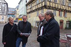 v.l.n.r. Uta Reich, Oliver Reich, Eberhard Riedmüller und Josef Kurz.