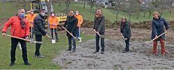 Spielplatz Spiesel wird zum Hochwasser-Staubecken
