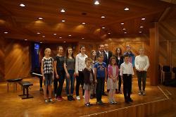 Erfolgreiche Musikschüler beim Wettbewerb Jugend musiziert 2016