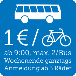 Fahrradmitnahme im Bus