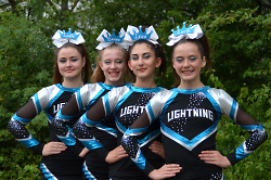 Lightning Cheerleader Royal Stars