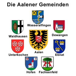 Die Aalener Gemeinden