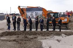 Startschuss für den Bau von 26 Mietwohnungen der Kreisbau Ostalb