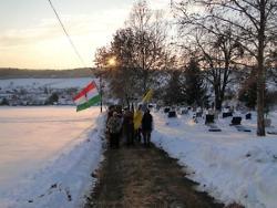 Ortsvorsteher Patriz Ilg in Gödre, Ungarn