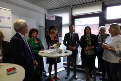Eröffnung der Beratungsstelle für Frauen in Not