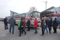 OB Rentschler on Tour in Dewangen