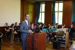 Eröffnung des naturwissenschaftlichen Fachklassentraktes des Schubart- Gymnasiums