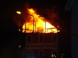 Brand in der Friedhofstraße