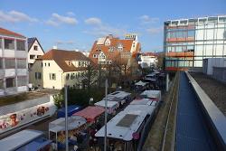 Martinimarkt in der Aalener Innenstadt