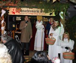 Eröffnung Aalener Weihnachtsland