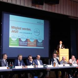 Gründungsversammlung der WellandMitte eG