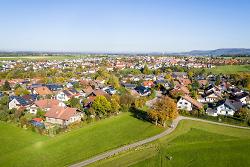 Luftbild Dewangen